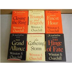 ASSORTED WINSTON CHURCHILL BOOKS