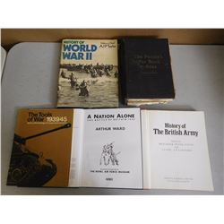 ASSORTED HISTORY & WAR BOOKS