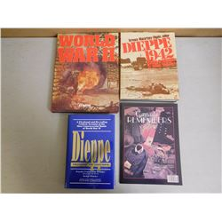 ASSORTED WAR BOOKS