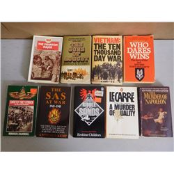 ASSORTED SOFTCOVER WAR BOOKS