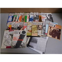 WAR MAGAZINES & NEWPAPER CLIPPINGS