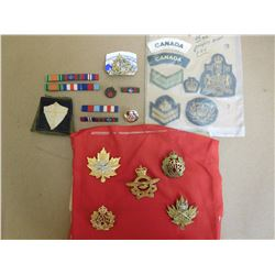 ASSORTED RIBBONS & BADGES