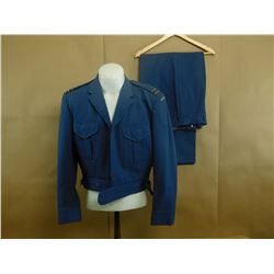 MILITARY UNIFORM - BLUE SOLID