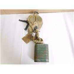 GAS MASK WITH CAN