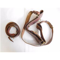 LEATHER BELT WITH LOOPS
