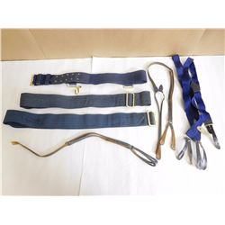 BLUE BELTS & SUSPENDER