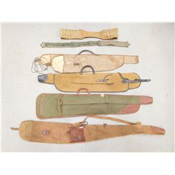 ASSORTED SOFT CASES & BELTS
