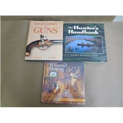 ASSORTED HUNTING AND FIREARMS BOOKS