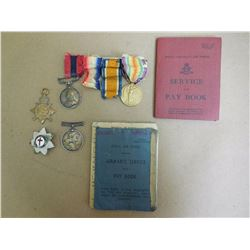 WWI VETERAN'S SERVICE PIECES