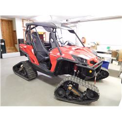 2013 CAN AM COMMANDER XT, ROTAX 1000 UTV