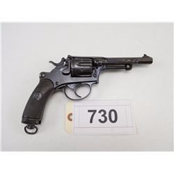 SWISS SERVICE REVOLVER , MODEL: 1882 , CALIBER: 7.5MM SWISS REV