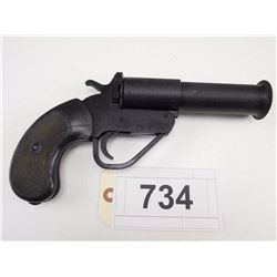 "UNKNOWN  , MODEL: FLARE GUN , CALIBER: 1""+"