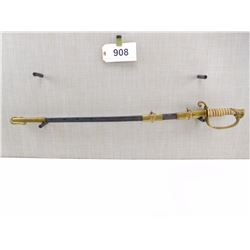 US NAVAL SWORD WITH SCABBARD