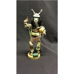 Native American Kachina Doll Artist Signed