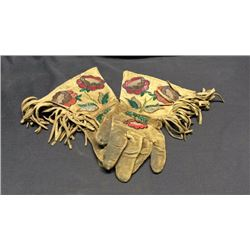 Wild West Gauntlets Nez Perce 1910's
