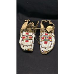 Beaded Moccasins 1930's