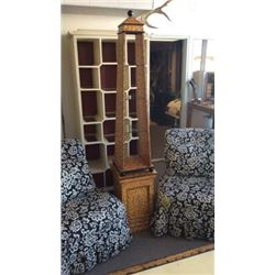 Ardley Hall Hand Painted Tower Shelf 84''T x 16''