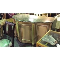 Century Louis the 15th Marble Top Buffett