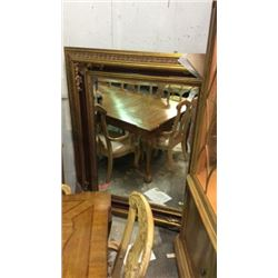 Ardley Hall Beveled Mirror in Fine Designed Gold