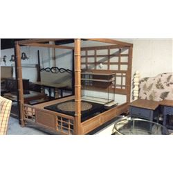 Lexington California King Poster Bed With Canopy