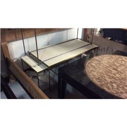 Century Bunching Brass Cocktail Table 3pc