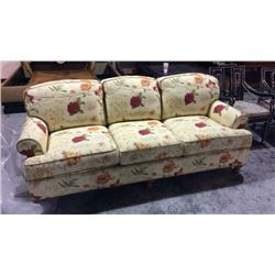 Century Sofa with Spring Down Cushions 35''T x