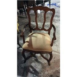 Century French Style Dinning Arm Chairs