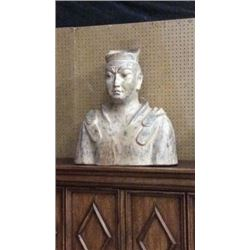 Ardley Hall Large Terra-cotta  Warrior Bust