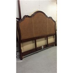 Century Double Wicker Insetted King Head Board