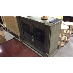 Century 2 Door Buffet / Server with Glass Doors