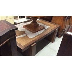Century Rectangular Cocktail Table with Oak