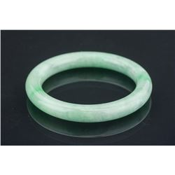 Chinese Green Jadeite Bangle