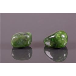 Natural Rough Tumbled  Polar Jade Boulders
