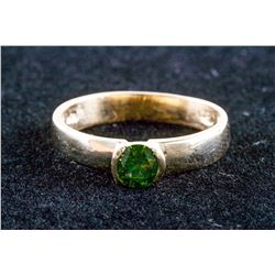 10k Yellow Gold 0.40ct Green Diamond Ring CRV$3450