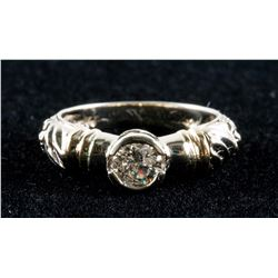 10k Yellow Gold 0.48ct Diamond Ring CRV$4150
