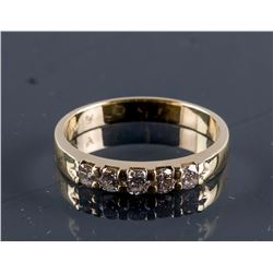 14k Yellow Gold 0.50ct Diamond Claw Set CRV$3350