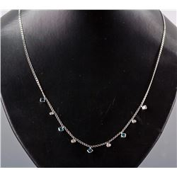 1.02ct Blue Diamond Necklace CRV$3750