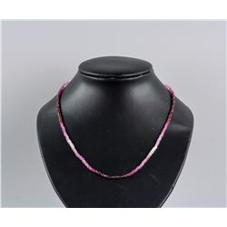 18k Yellow Gold Ruby Gradient Necklace CRV$2844