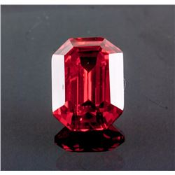Emerald Cut 27.180 ct Ruby 18.09 mm x 13.02 mm