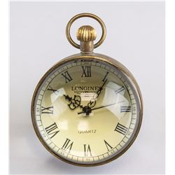 Longines Globe Pocket Watch