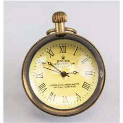 Rolex Globe Pocket Watch