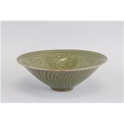 Chinese Green Crackle Porcelain Bowl