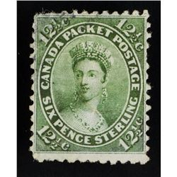 1859 Canada Queen Victoria 12.5 Cent Stamp Scott18