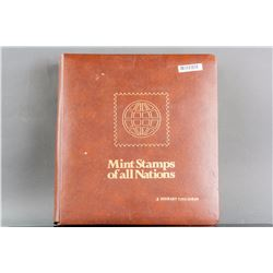 Mint Stamps of all Nations Collection Book Limited