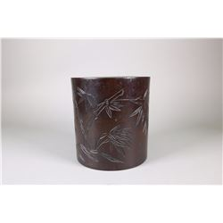 Chinese Fine Rosewood Brushpot NR