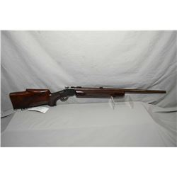 Carmin & Son Lougmont Colo Model 1885 High Wall .219 Wasp Wildcat Cal Single Shot Falling Block Rifl
