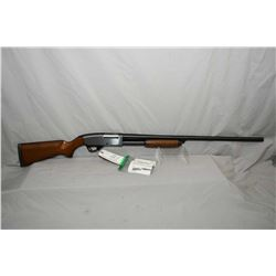 "Stevens Model 67 Series E .12 Ga 3"" Pump Action Shotgun w/ 30"" bbl [ blued finish, appears unfired,"