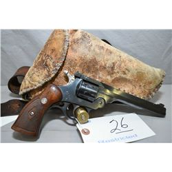 Harrington & Richardson Model Sportsman Double Action .22 LR Cal 9 Shot Revolver w/ 152 mm bbl [ blu