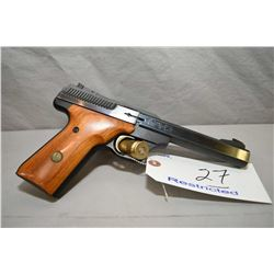 Browning Model Challenger III .22 LR Cal 10 Shot Semi Auto Pistol w/ 140 mm bbl [ blued finish, flou