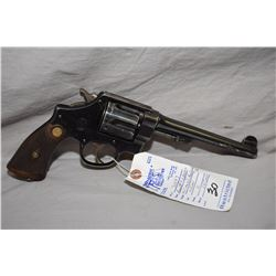 Smith & Wesson Model .455 Mark II Hand Ejector Second Model .455 Rev Cal 6 Shot Revolver w/ 165 mm b
